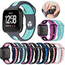 For Fitbit Versa/Lite Silicone Rubber Replacement Classic Band Strap Wristband
