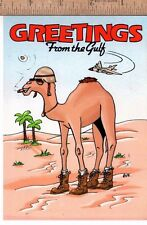 Unused Holiday Greeting Card from Gulf War