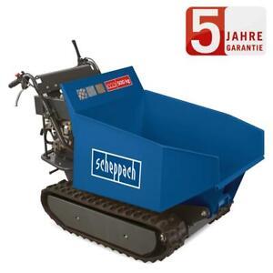 Scheppach Mini Raupen Dumper DP5000 500 kg Motorschubkarre Raupendumper