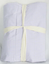 Pottery Barn Kids Gingham Chambray Reversible Twin Duvet Cover Lavender Sold Out