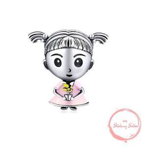 Charm Anhänger Familie Kind Kinder Mädchen Kleine Tochter 925 Silber für Pandora