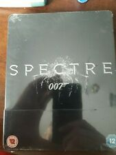 Spectre  007 James Bond Blu ray   Limited Edition Steelbook   Daniel Craig