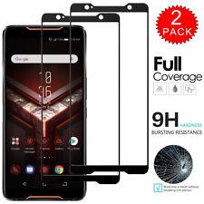 For ASUS ROG Phone II ZS660KL- FULL COVER Tempered Glass Film Screen Protector