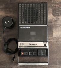 Vintage Panasonic Rq-2107A Portable Cassette Tape Recorder