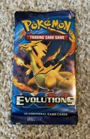 1 Pokemon TCG XY Evolutions Booster Pack Charizard Artwork!!!