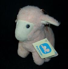 VINTAGE 1982 R DAKIN BABY THINGS CREAMPUFF LAMB RATTLE STUFFED ANIMAL PLUSH TOY