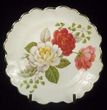 Adderley Floral White & Pink Flowers Bone China Trinket Dish