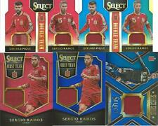 Sergio Ramos Gerard Pique Select Game Used Jersey Spain Barcelona Real Madrid