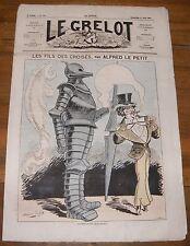 Le Grelot Journal Satirique N°114 Les Fils des Croisés Par Alfred le Petit 1873