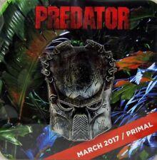 "Predator Enamel Pin Bio-Mask Alien Trophy Hunter Extraterrestial Species Big 2"""