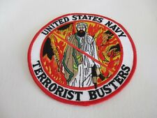 US Navy Terrorist Busters Patch