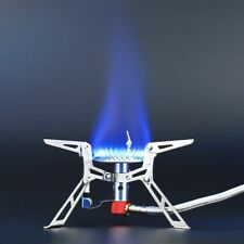 Dpower Ultralight Folding Backpacking Camping Stove Gas-powered Stove with Piezo