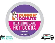Dunkin Donuts Milk Chocolate Hot Cocoa Keurig Coffee K-cups YOU PICK THE SIZE