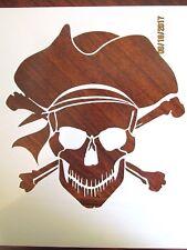 Pirate Skull Reuable 10 mil Mylar