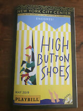 HIGH BUTTON SHOES New York City Center Encores Broadway Playbill Michael Urie
