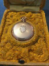 Watch with Original case Antique Gold Waltham Ladies Pocket