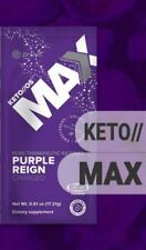 Keto OS Max Purple Reign Charged Pruvit 5 Packets Therapeutic Ketones FLASH SALE