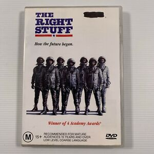 The Right Stuff (DVD, 1998) 1983 film Dennis Quaid Ed Harris Region 4