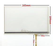 165mm*104mm 4 Wire Resistive 7 Inch Touch Screen for INNOLUX AT070TN83 free ship