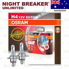 OSRAM NIGHT BREAKER UNLIMITED Headlight Bulbs H4 +110% 12V 60/55W for LOW BEAM