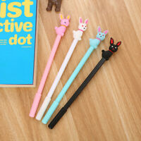 0.5mm Rabbit Design Black Ink Gel Pen Stationery Pens Super Kawaii Cute Pens