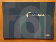FORD NEWS MEDIA WEBSITE orig French Mkt Launch Brochure Depliant