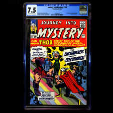 Journey Into Mystery 103 🔥 1st appearance ENCHANTRESS & Executioner 🔥 CGC 7.5