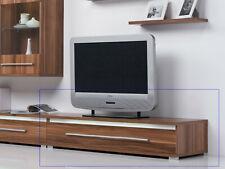 TV Lowboard Unterschrank Schrank Fernsehschrank Nussbaum Walnuss - Breite 120 cm