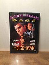 From Dusk Till Dawn (DVD, 1998, Widescreen) George Clooney, Harvey Keitel