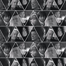 Fat Quarter Harry Potter Triangles Digital Print 100% Cotton Quilting Fabric