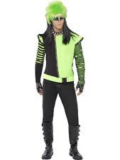 Costume Halloween Carnevale Adulto Giacca Elfo Punk fluo smiffy's *05404