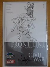 """Civil War"" Front Line 1 ""Wizard World Chicago"" Michael Turner Signed - 2006 COA"