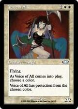 VOICE OF ALL Planeshift MTG White Creature — Angel Unc