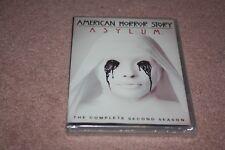 American Horror Story: Asylum (DVD, 2013, 4-Disc Set) *Brand New Sealed*