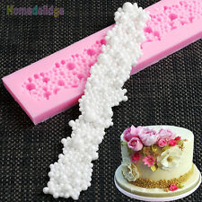 Pearls Beads Silicone Fondant Cake Cupcake Mold Border Sugar Paste Diy Mould