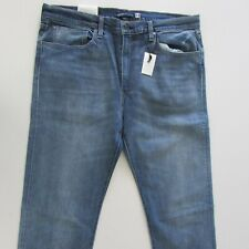 NEW Levi's 502 Selvedge Jeans Size W38 L34 Low Rise Regular Taper Blue RRP $219