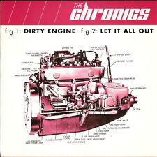 "THE CHRONICS Dirty Engine 7"" . garage hives fuzztones sonics strypes soul rock"