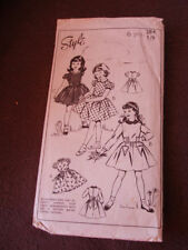 Style Child Sewing Patterns Vintage