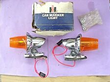 VINTAGE CAB MARKER LIGHTS NEW OLD STOCK,INTERNATIONAL,FORD,CHEVY,GMC DODGE TRUCK