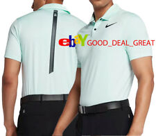 5b946113 Nike Tiger Woods Dry Blur Dri Fit Golf Polo Shirt Red Size M 854209 653