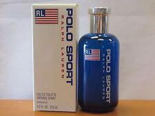 Ralph Lauren Polo Sport Eau De Toilette for Men, 4.2 Fl.oz 125 ml