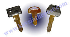 Triumph Bonneville Hurricane Legend Motorcycle Keys Cut to your bike NOT A BLANK