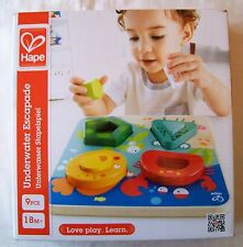 HAPE Wooden UNDERWATER ESCAPADE PUZZLE E0436 - For Toddlers 18 Months +