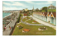 Postcard Greenhill Gardens Weymouth Dorset postmark 1973    (B4f)