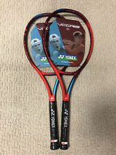 New listing NEW 2X Yonex Vcore 100+ Tennis Racquet Unstrung Grip Size 4 1/4 Made in Japan