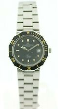 Baume&Mercier Riviera 4013.000 Black Dial Stainless Steel Quartz Women's Watch