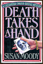Death Takes a Hand by Susan Moody-Publisher Review Copy-1st American Ed.-1994
