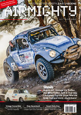 AIRMIGHTY MEGASCENE AIR COOLED VW LIFESTYLE MAGAZINE ISSUE # 24