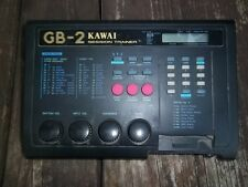 VTG Kawai Japan GB-2 Session Trainer Electric Guitar Bass Sequencer Drum Machine