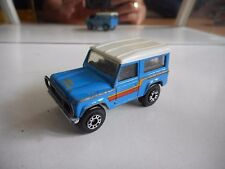 Matchbox Land Rover Ninety in Blue